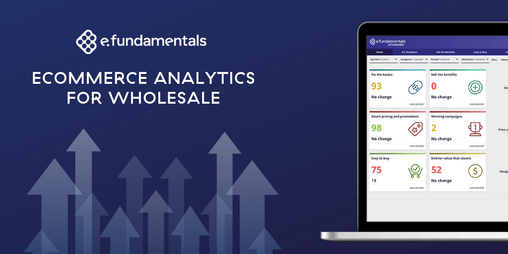 e.fundamentals launches dedicated eCommerce analytics service to help brands win in wholesale