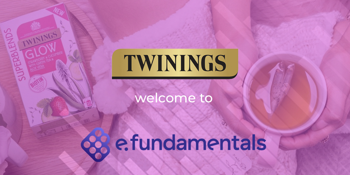 Global tea brand Twinings chooses e.fundamentals to help boost eCommerce